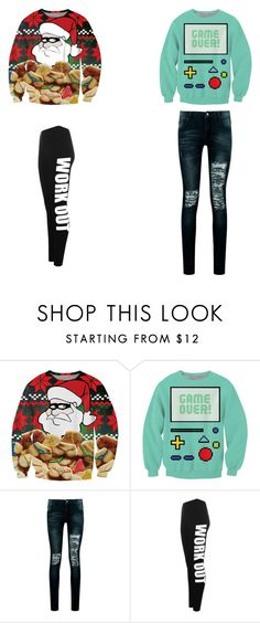 """""""sweaters"""" by lillie-schild on Polyvore featuring Chicnova Fashion, Boohoo and WearAll"""