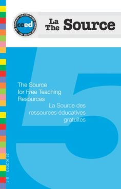 The Source - The bilingual source of free teaching educational kits in Canada // Arango Communications | The Source