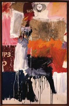 'Second Time Painting' (1961) by Robert Rauschenberg