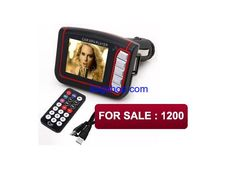 This is a MP3/MP4 player is specially used in cars. It can download MP3/WAV/WMV/ASF formats file from the computer and saves them by the SD/MMC/TF. It uses high quality mp3 decoder chip which decodes MP3 file from SD/MMC/TF memory to audio signal, and transmits them through FM