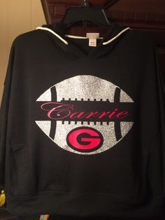 Bulldog football shirt for Carrie.