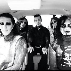 Motionless in White (2005 present) ❤ liked on Polyvore featuring motionless in white