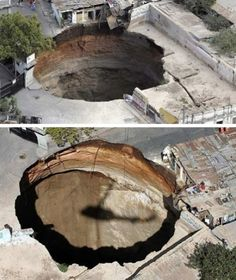 sinkholes are a special danger in Florida.