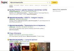 Yandex общий поиск #фиолетовыегрибы Скан поисковой выдачи 26.04.2017