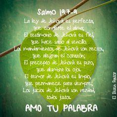 YO SOY EL BUEN PASTOR: Salmo 19:7-9
