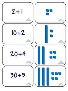 Growing Firsties: Place Value Games - Base 10 Blocks Math Classroom, Kindergarten Math, Teaching Math, Classroom Ideas, Place Value Games, Third Grade Math, Grade 1, Math Intervention, Math Addition