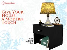 Let your spaces shine out with Housefull's contemporary night stands. Buy now https://www.housefull.com/nightstands