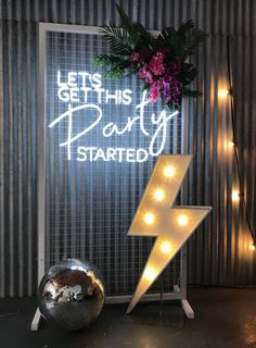 Sketchy neon all you need is glow. Crafted customize neon to make you Lit your party ambiance or direction signage 9987874663 21st Birthday Decorations, Wedding Decorations, Birthday Parties, Birthday Centerpieces, Neon Decorations, Flowers Decoration, Disco Birthday Party, Birthday Box, Birthday Ideas