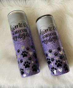 Mom Tumbler, Tumbler Cups, Personalized Tumblers, Custom Tumblers, Red Glitter, Cream And Gold, Dog Mom, Epoxy, Unique Jewelry