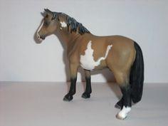 Schleich custom paint model horse