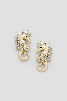 Ivorylicious Seahorse Earrings