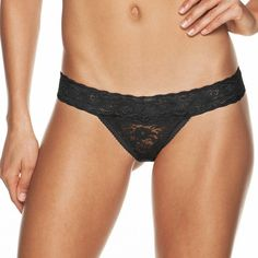 Cosabella Amore Adore Sheer Lace Thong Panty ADORE0321 ($16) ❤ liked on Polyvore featuring intimates, panties, black, panty thong, sheer thong panty, thong panties, cosabella panties and transparent panties
