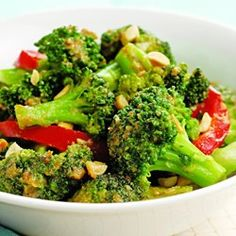 Spicy Stir-Fried Broccoli & Peanuts  - EatingWell.com
