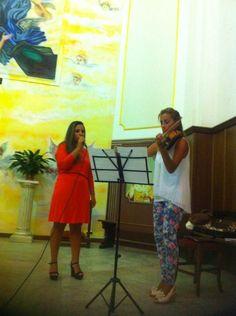 Una voce da brivido: Marta Bianco, Un dolce violino: Patrizia Procopio http://www.fabriziocatalano.it/2014-calabria-serate-destate-cercando-fabrizio-e/