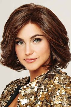 Crowd Pleaser by Raquel Welch Wigs – Monofilament Part, Lace Front Wig - Balayage Haare Blond Kurz Synthetic Lace Front Wigs, Synthetic Wigs, Mila Kunis Hair, Raquel Welch Wigs, Natural Hair Styles, Short Hair Styles, Curly Hair Types, Hair Lengths, Hair Trends
