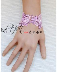Pink Purple Sweet Kawaii Lolita Wrist Belt
