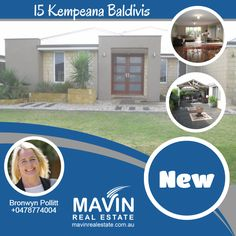 """""""#NewProperty For #Rent 15 #KempeanaBaldivis""""- Double doors greet you as you enter this large established home with 4 double bedrooms. With spacious rooms and dining area, you even have a place for a theater and a study. All bedrooms come with robes and the master bedroom comes with a walk through robe. Pets are welcome here as this house is pet-friendly. To know more about this property click here: www.mavinrealestate.com.au Or Contact Bronwyn Pollitt at 0478774004"""