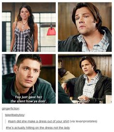 The Winchesters and their flannel.