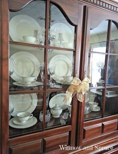Queen Anne American Drew China Cabinet Still Love The Traditional In My Dining