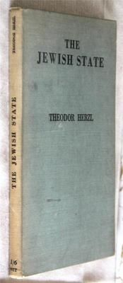 The Jewish State 1934 Herzl 2nd edition