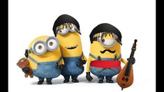Minions,Aνάθεμα τα κινητά(κρητικό) Minions, Songs, Music, Youtube, Fictional Characters, Musica, Musik, The Minions, Muziek