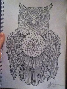 dream_catcher_owl_by_wiseowlink-d7r2w9w.jpg (720×960)