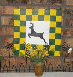 Barn Quilts by buttonsbows12 on Etsy