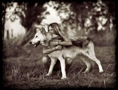 Friendship with dog <3