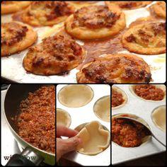 Yummy! Make Lasagna Cups!