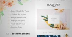 Download and review of Rosemary - A Responsive WordPress Blog Theme, one of the best Themeforest Magazine & Blogs themes {Download & review at|Review and download at} {|-> }http://best-wordpress-theme.net/rosemary-a-responsive-download-review/