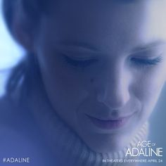 In time, you will find the person meant for you. Believe in love - The Age of #Adaline, in theaters everywhere April 24!