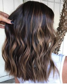 Visit this link and find the stunning shades of brunette balayage hair colors wi. Balayage , Visit this link and find the stunning shades of brunette balayage hair colors wi. Visit this link and find the stunning shades of brunette balayage . Brown Hair Balayage, Hair Color Balayage, Balayage Highlights Brunette, Blonde Hair, Brunette With Caramel Highlights, Balayage Hair Caramel, Baylage On Dark Hair, Ombre For Dark Hair, Wavy Hair