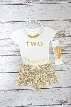 Posh Gold Sequin Shorts- cotton ivory back with elastic stretch waistband. Gold sequins are over the top shiny and extra sparkly. Ready to wear to