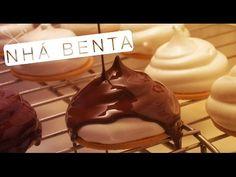 Nhá Benta - Ingredientes: 2 claras 150g de açúcar 1/4 de xícara de água 1/4 de xícara de xarope de milho 10g de gelatina 1/4 de xícara de xarope de milho