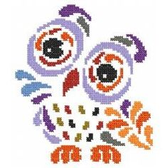Tribal Art Owl - A Series of 10 - At last count!