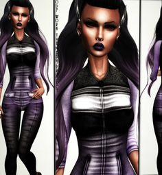 Second Life Freebies 1000 Members Gift from Joy The Amanda jacket and pants come with several appliers. This is a free group gift, to celebrate...