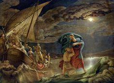 Philipp Otto Runge(1777ー1810)「Peter Walks on Water」