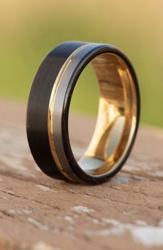 A ring that suits your style.  Manbands