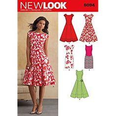 New Look NL6094 Patron de Couture Robe 22 x 15 cm