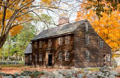 One of many New England homes featured in New England Icons, a recently released book by Bruce Irving (with photography by Greg Premru) Early American Homes, American Houses, Colonial House Exteriors, Colonial Architecture, Primitive Homes, New England Style, New England Homes, Saltbox Houses, Old Houses