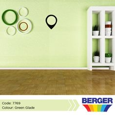 Green is one of the easiest colours to decorate with. Why? Because despite the fact that it lives on the colour wheel, green can act as a neutral. Try pairing various shades of green with just about any other colour, and you'll find the combination can work beautifully. #BergerCaribbean #GreenWall #GreenInspiration #GoGreen