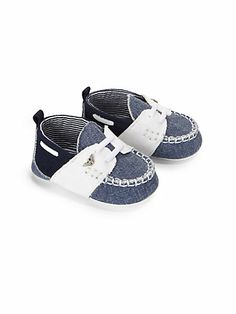 Armani Junior - Infant's Colorblock Chambray Shoes - Saks.com