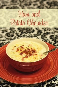 Ham and Potato Chowder