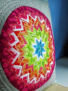 Somerset star pillow  live, laugh, love... sew