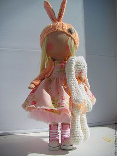 Купить Сабрина - бежевый, куколка, куколка на счастье, куколка в подарок, куколка ручной работы