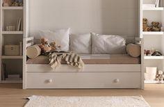Dormitorio infantil cama nido