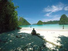 Wajag,The Island of raja ampat Bima Amanta Explorer