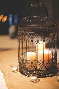 bougies quoi faire bougie lumire deco bougie dcoration mariage cage a oiseaux decoration reunion decos maison noyan jolies lueurs - Gifi Mariage