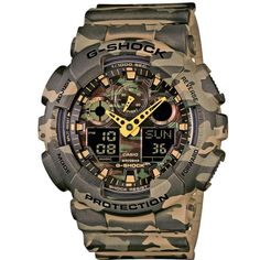 Reloj Casio G-Shock GA-100CM-5AER Camouflage http://relojdemarca.com/producto/reloj-casio-g-shock-ga-100cm-5aer-camouflage/
