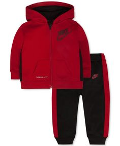 3162a97e4f94 Nike Baby Boys  KO Fleece Hoodie   Cuff Pants Set Kids - Macy s